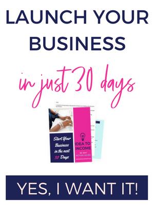 idea to income 30 day guide
