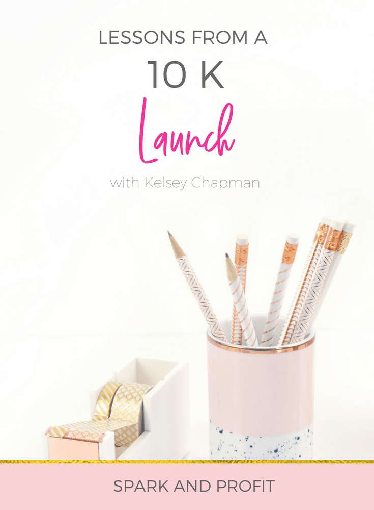 launch lessons - Kelsey Chapman