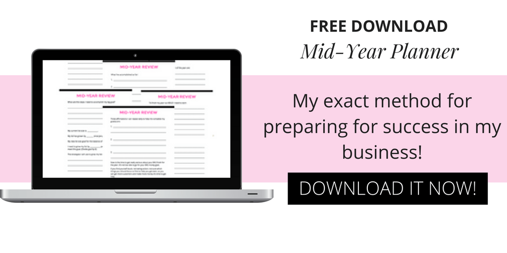 FREE Mid-Year Planner