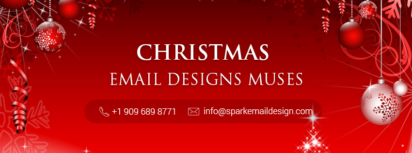 christmas email designs muses