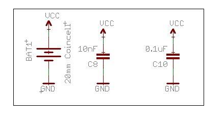 Eagle Schematic Power Ground
