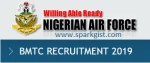 NAF Recruitment 2020/2021 Form is out – Register Now for Airmen and Airwomen