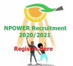 Npower Recruitment 2020/2021 Registration Application Form Latest News: https://npower.fmhds.gov.ng/signup