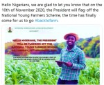 National Young Farmers Scheme Recruitment Training 2020/2021 to begin – see Commencement Date