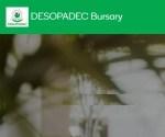 DESOPADEC Bursary 2021/2022 Application Form/Portal – Register