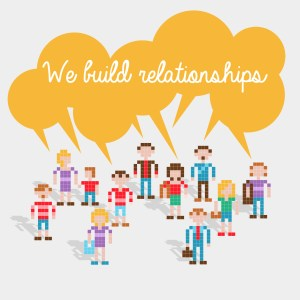 Icone We build relationships