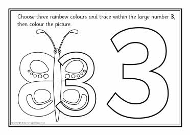 Confusing numbers colour and trace sheets (SB7286