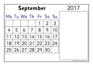 Classroom Calendar Display Resources & Printables KS1