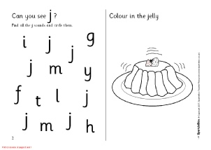 Letter J Phonics Activities and Printable Teaching