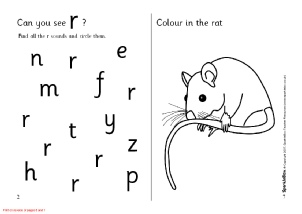 Letter R Phonics Activities and Printable Teaching