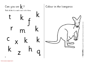 Letter K Phonics Activities And Printable Teaching