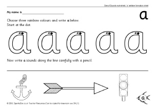 Letter A Phonics Activities and Printable Teaching