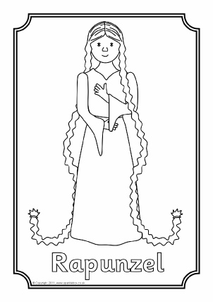 Rapunzel Teaching Resources & Story Sack Printables
