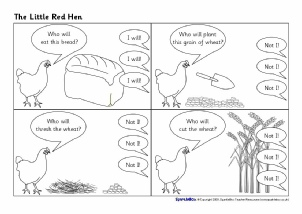 Little Red Hen Teaching Resources & Story Sack Printables