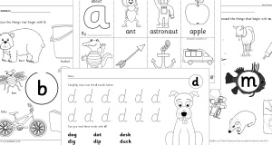 Letter Formation Worksheets & Teaching Resources for Early