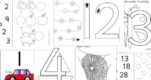 Printable Number Activities and Games for EYFS & KS1