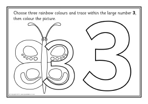 Number Worksheets and Printables for Primary School