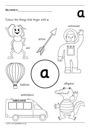 Alphabet and Phonics Printables for Primary School