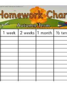 Preview also editable homework wall charts sb sparklebox rh