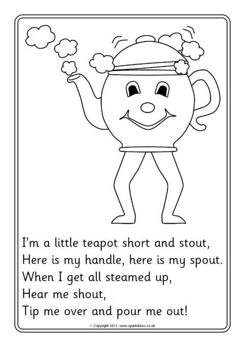 teapot coloring page # 62