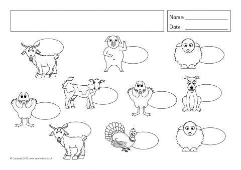 Editable Keyword Picture Assessment Sheets (SB7621