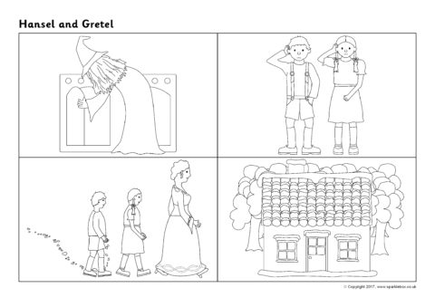 Hansel and Gretel Sequencing Sheets