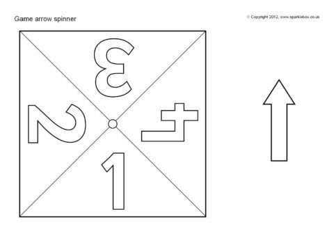 Arrow Spinner Templates