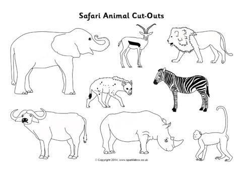 Safari Animal Cut-Outs
