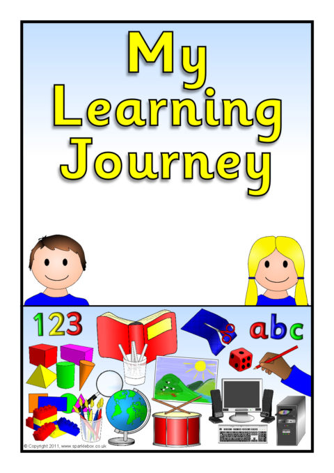 Learning Journey PupilClass Record Book Covers SB5187 SparkleBox