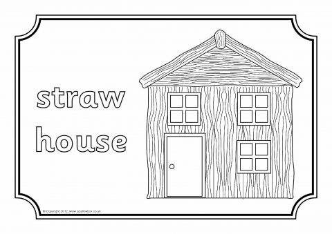 A set of simple colouring sheets to accompany the story of