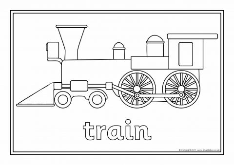 Types Of Transport Colouring Pages Sketch Coloring Page