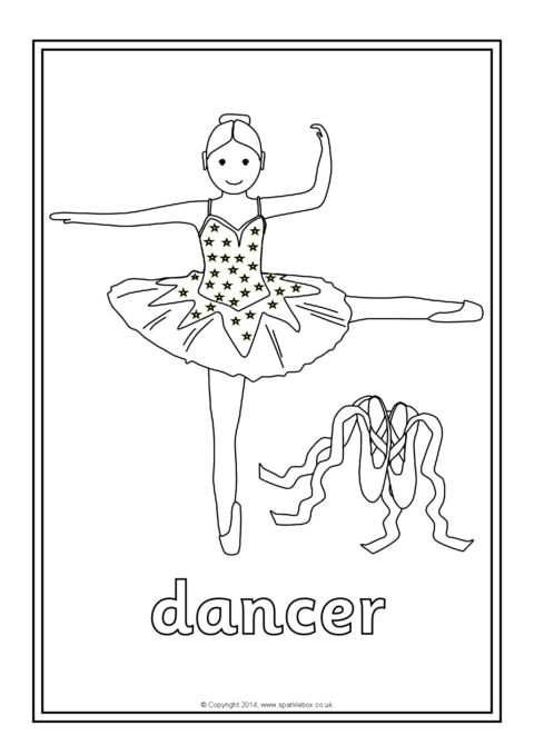 Occupations Colouring Sheets SB10547  SparkleBox