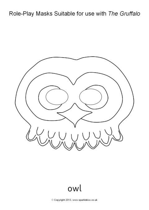 Gruffalo Role-Play Masks