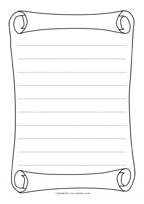 scroll template free download