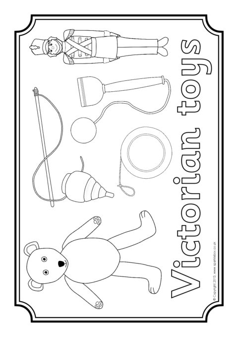 A Selection Of Colouring Pages Featuring Various Images Of