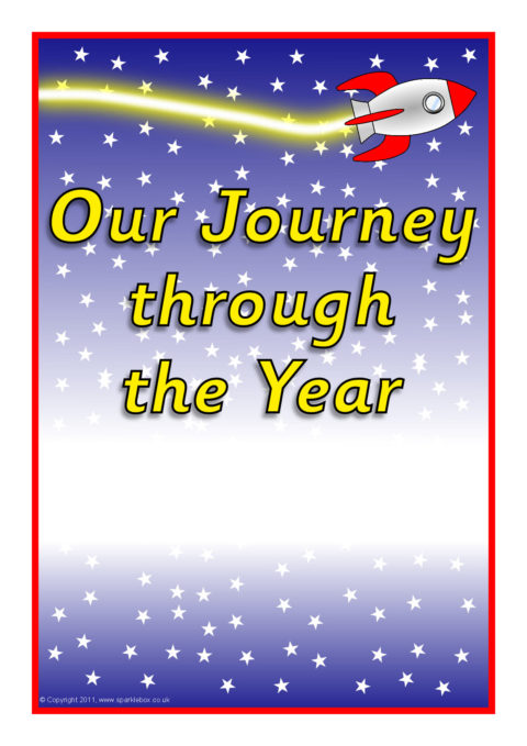 Learning Journey Pupil Class Record Book Covers