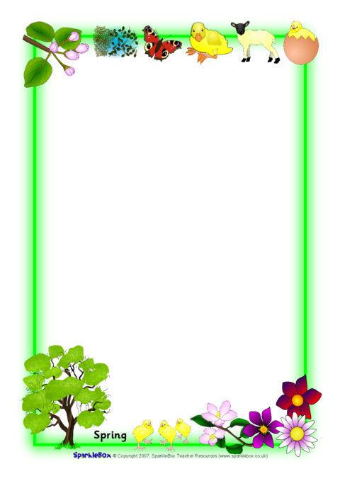 Sparklebox Seasons