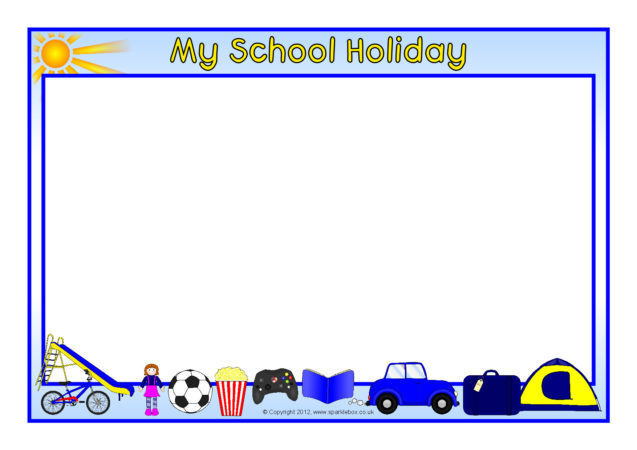 holiday borders templates