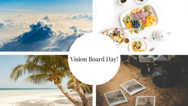 Vision Board Day