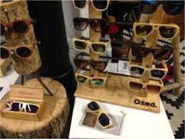 jhjhgfhgfghhbn OZED COMPANY occhiali da sole creati in legno 100% handmade