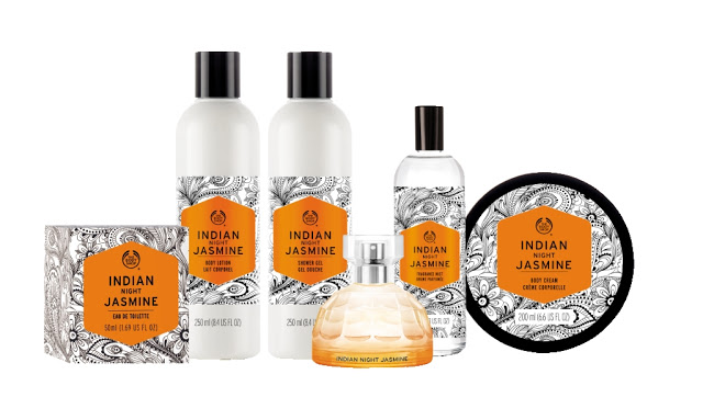 Indian_Night_Jasmine_Linea THE BODY SHOP: VOYAGE COLLEZIONE  - ITALIAN SUMMER FIG anteprima