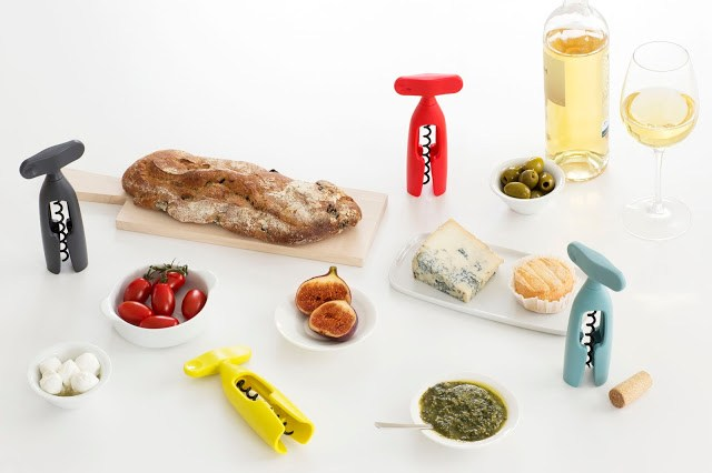 Corkscrews-Red-Mint-Yellow-Grey-MOOD-01 Brabantia nuova collezione Tasty Colours