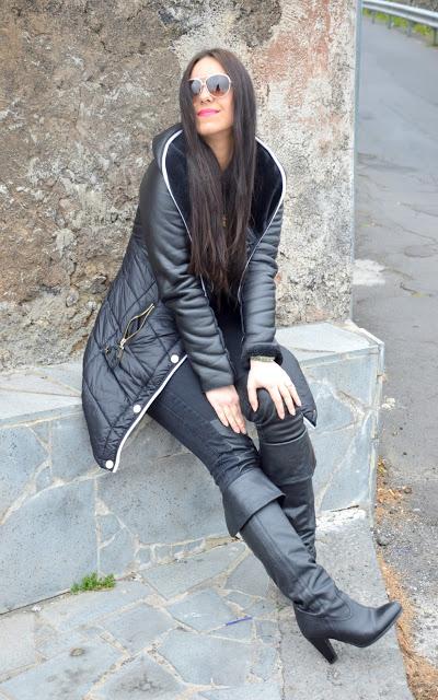 DSC_0094 Total black outfit, oggi mi vesto di nero!