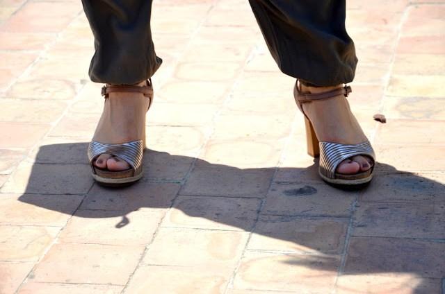 DSC_0220 Pantaloni alla turca e camicia color menta Sumissura