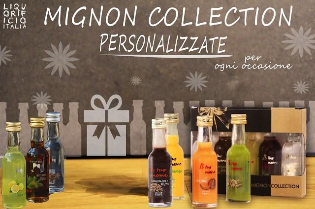 MIGNONCOLLECTION Liquorificio Italia, idea regalo personalizzato