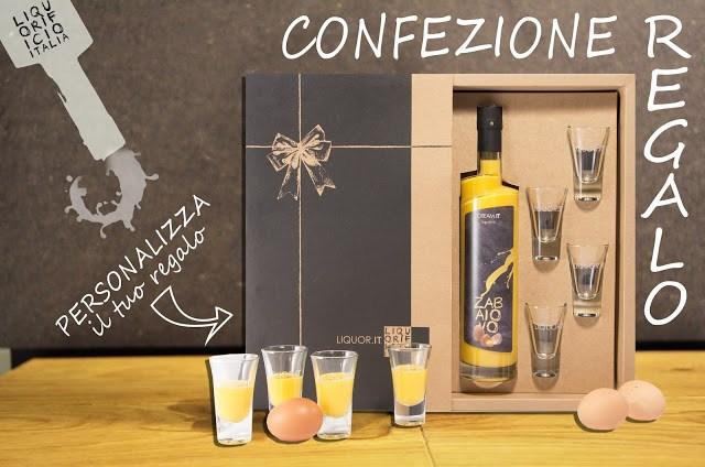 SCATOLAREGALO Liquorificio Italia, idea regalo personalizzato