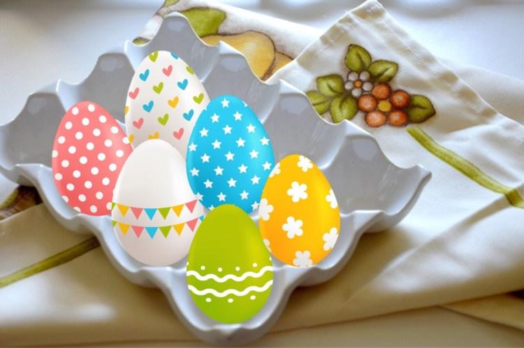 IMG_2592-1024x680 Pasqua - le mie decorazioni in colore bianco