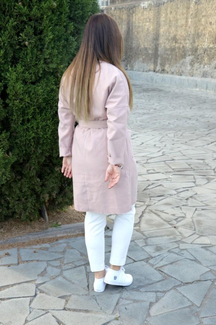 DSC_2702 Cappotto rosa cipria Shein - powder pink coat