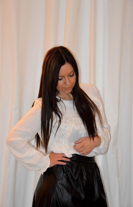 DSC_0030 Blusa con inserti in pizzo Shein, blusa di colore bianco
