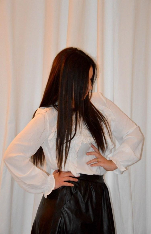 DSC_0031 Blusa con inserti in pizzo Shein, blusa di colore bianco